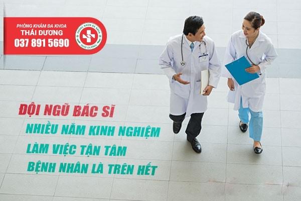 Phòng khám Thái Dương quy tụ đội ngũ bác sĩ chuyên nam khoa giỏi