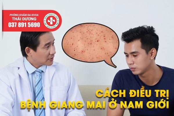 Cách điều trị bệnh giang mai ở nam giới