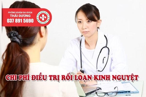 Chi phí điều trị rối loạn kinh nguyệt tại phòng khám Thái Dương