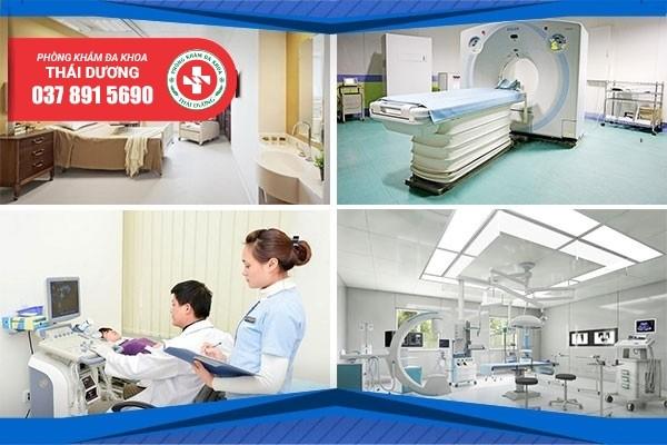 Phòng khám Thái Dương sở hữu hệ thống cơ sở vật chất hiện đại