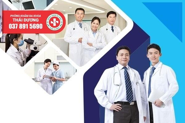Phòng khám Thái Dương quy tụ nhiều bác sĩ nam khoa giỏi