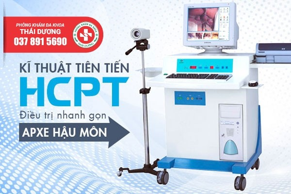 Phương pháp HCPT điều trị áp xe hậu môn hiệu quả
