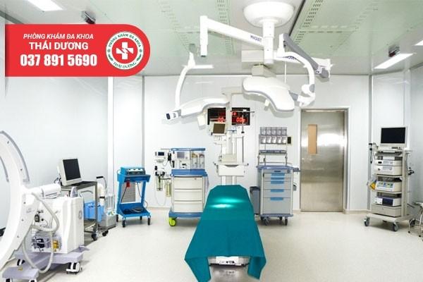Thiết bị y tế hiện đại tại Phòng Khám Đa Khoa Thái Dương