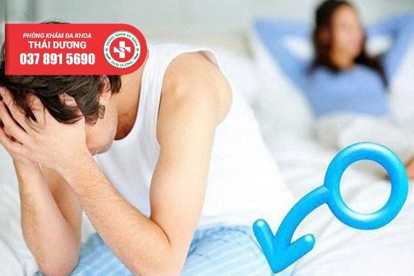 Những tác hại của bệnh liệt dương