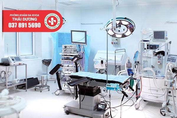 Máy móc y tế hiện đại tại Phòng khám Thái Dương