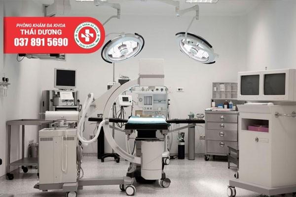 Máy móc y tế hiện đại tại Phòng khám đa khoa Thái Dương