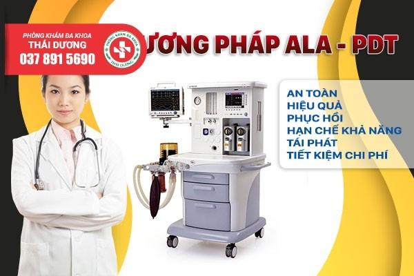 Điều trị sùi mào gà hiệu quả cao bằng phương pháp ALA - PDT