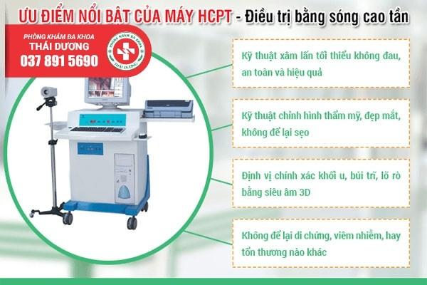 Phương pháp cắt trĩ ngoại hiện đại HCPT