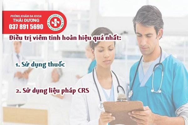 Phòng khám Thái Dương điều trị viêm tinh hoàn hiệu quả bằng phương pháp CRS