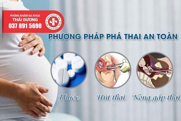 Các phương pháp phá thai an toàn tại Đa khoa Thái Dương