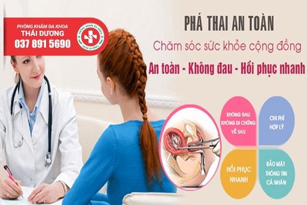 Phòng khám Thái Dương áp dụng hiệu quả phương pháp phá thai không đau, an toàn