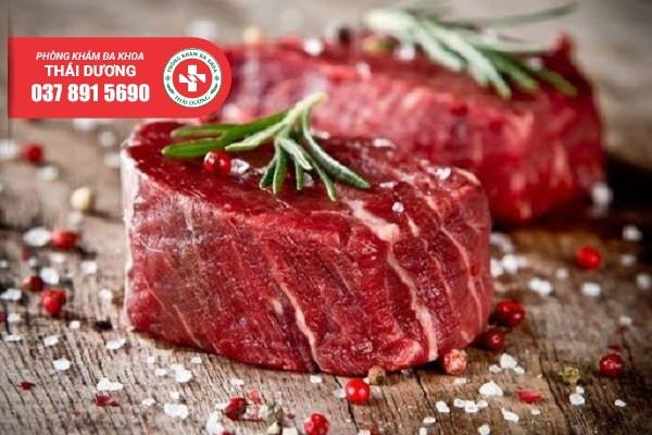 Thịt đỏ – Thực phẩm cải thiện chất lượng tinh trùng hàng đầu