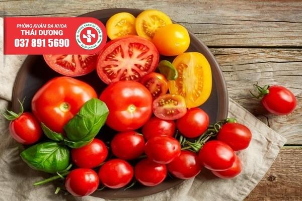 Thực phẩm tốt cho tinh trùng – Cà chua